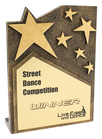 Star Cross Plaque - Gold
