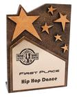 Star Cross Plaque - Bronze