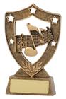 Music Gold Shield