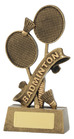 Gold Badminton Trophy