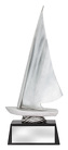 Abstract Dinghy Silver