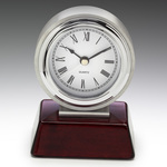 Atlas Chrome Clock