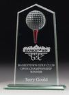 Golf Glass Tee Off