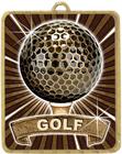 Gold Lynx Medal - Golf
