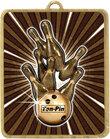Gold Lynx Medal - Tenpin