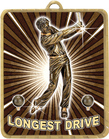 Gold Lynx Medal - Longest Drive