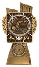 Antique Gold Lynx - Swim