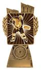 Antique Gold Lynx - Ice Hockey