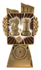Antique Gold Lynx - Chess