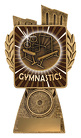 Antique Gold Lynx - Gymnastics