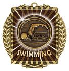 Lynx Wreath - Swimming