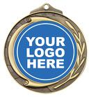 Wreath Medal 50mml - Horse