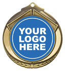 Shield Medal 50mm - Fishing