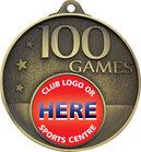 100 Games Milestone Medal