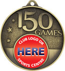 150 Games Milestone Medal