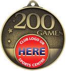200 Games Milestone Medal