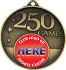 250 Games Milestone Medal