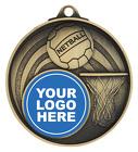 Netball Medal - Insert Option