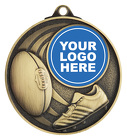 Aussie Rules Medal - Insert Option