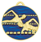Swim Medal Painted