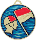 Lifesaving Medal Painted