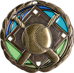 Baseball Stained Glass