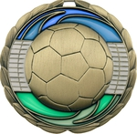Stained Glass Medal - Football