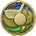 Golf Stained Glass