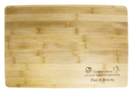 Bamboo Message Board - Extra Thick