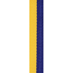 Blue / Gold Loop Ribbon