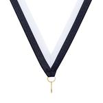 Navy / White Ribbon